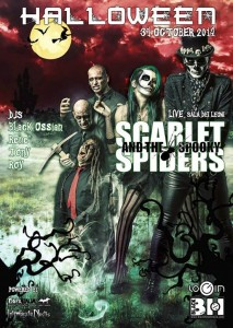 Halloween with Scarlet and the Spooky Spiders @ Black Hole - MI
